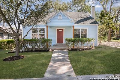 San Antonio Single Family Home New: 1238 Avant Ave