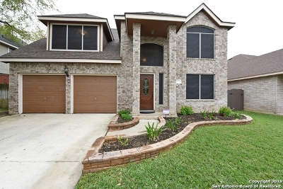 San Antonio Single Family Home New: 7423 Rocky Cedar