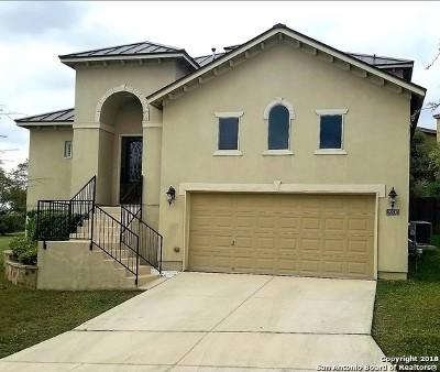 San Antonio Single Family Home New: 18302 Camino Del Mar