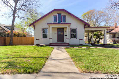 San Antonio Single Family Home Back on Market: 722 E Drexel Ave