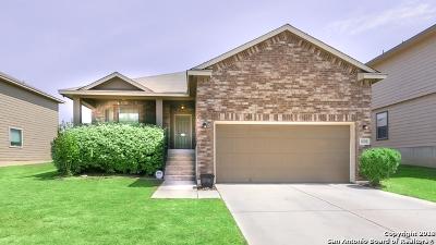 Converse Single Family Home New: 10218 Margarita Hill