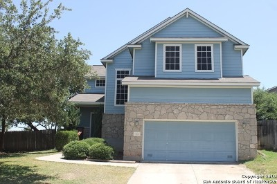 San Antonio Single Family Home New: 103 Willow Grove Dr