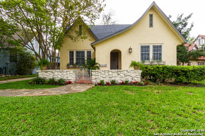 San Antonio Single Family Home New: 124 W Lullwood Ave