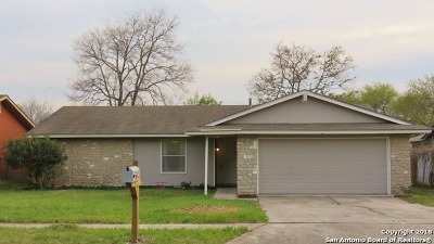 San Antonio Single Family Home New: 7242 Glen Hill