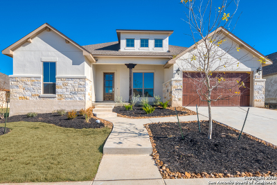 Boerne Single Family Home New: 121 Cool Rock