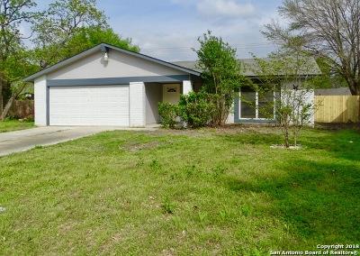 San Antonio Single Family Home New: 7558 Monte Cristo