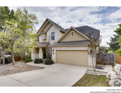 Cibolo Canyons Single Family Home Price Change: 3322 Valley Creek