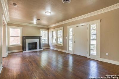 Monte Vista Single Family Home Price Change: 422 E Huisache Ave