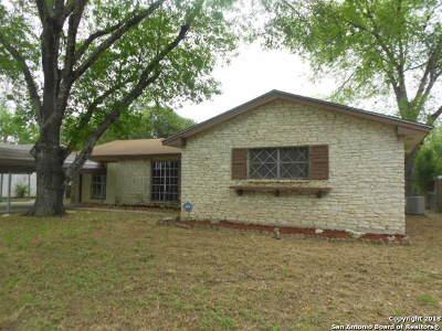 San Antonio Single Family Home Back on Market: 8210 Berrycreek Dr