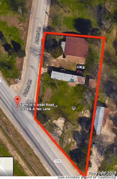 Cibolo Single Family Home For Sale: 11970 E Fm 1518 N