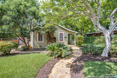 Alamo Heights Single Family Home For Sale: 115 Nacogdoches Rd