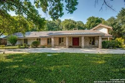 San Antonio Single Family Home Back on Market: 3 Bitterblue Lane