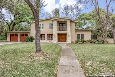 Alamo Heights Single Family Home For Sale: 301 Primrose Pl