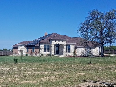La Vernia Single Family Home For Sale: 104 Westfield Ranch