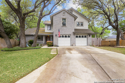 San Antonio Single Family Home Back on Market: 11135 Quail Rise