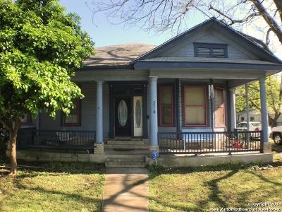San Antonio Single Family Home For Sale: 214 Lotus Ave