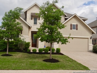 Bulverde Single Family Home For Sale: 32137 Tamarind Bend