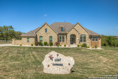 New Braunfels Single Family Home For Sale: 1307 Campania