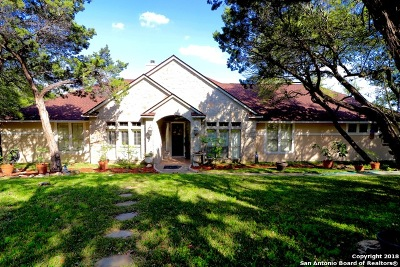 Helotes Single Family Home Price Change: 15610 Chinquapin