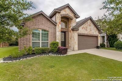 Boerne Single Family Home Back on Market: 27522 Dana Creek Drive