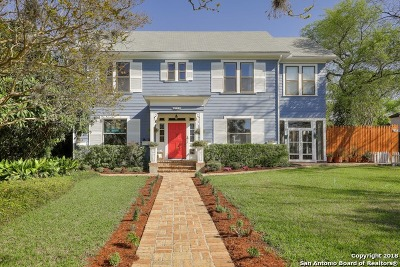 San Antonio Single Family Home For Sale: 129 E Agarita Ave
