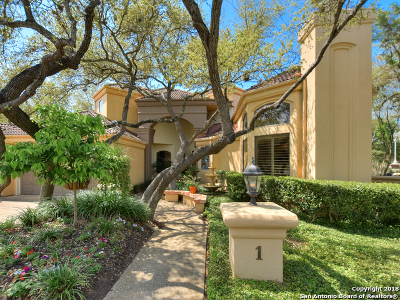 The Dominion Single Family Home For Sale: 1 Ashley Green