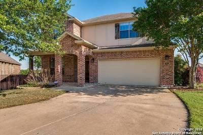 Bexar County Single Family Home Price Change: 13610 Cala Levane