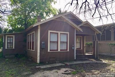 San Antonio Single Family Home Back on Market: 410 Barrera St