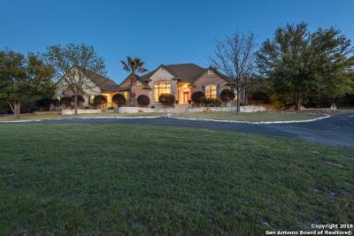 Bulverde Single Family Home For Sale: 31436 Retama Ridge