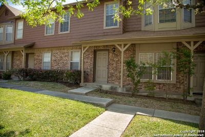 San Antonio Condo/Townhouse Back on Market: 10254 Dover Ridge #404