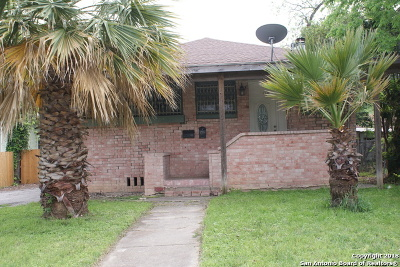 San Antonio TX Single Family Home Back on Market: $262,400