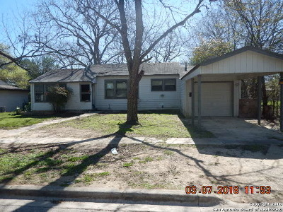 Schertz Single Family Home For Sale: 408 Winburn Ave