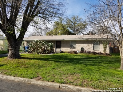 San Antonio Single Family Home Price Change: 4131 Moana Dr
