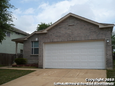 Cibolo Single Family Home For Sale: 113 Foxglove Pass