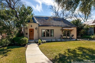 Olmos Park Single Family Home For Sale: 216 Primera