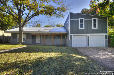 San Antonio Single Family Home For Sale: 214 Audrey Alene Dr