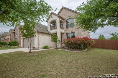 Bexar County Single Family Home Price Change: 11907 Travis Path