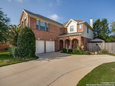 Helotes Single Family Home For Sale: 10638 Canyon River
