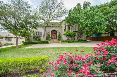 Terrell Hills Single Family Home For Sale: 116 Tuttle Rd