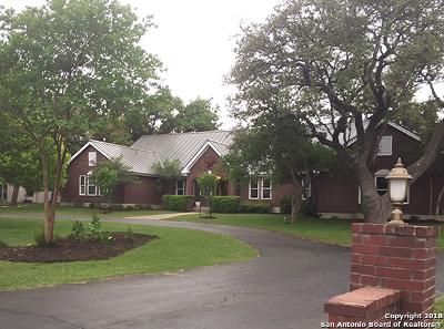Boerne Single Family Home For Sale: 8676 Noble Lark Dr