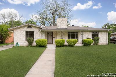 San Antonio Single Family Home Back on Market: 2323 W Gramercy Pl