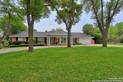 San Antonio Single Family Home For Sale: 546 Country Ln