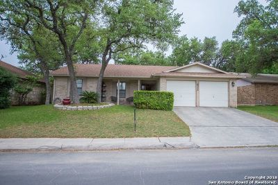 San Antonio Single Family Home Back on Market: 8502 Timberwilde St