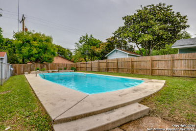 San Antonio Single Family Home Back on Market: 4415 Temple Hill