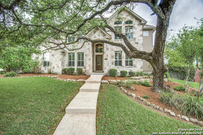 San Antonio Single Family Home For Sale: 21223 Elm Ridge Ct