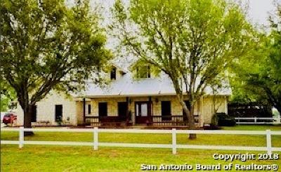 La Vernia Single Family Home For Sale: 4317 Fm 539