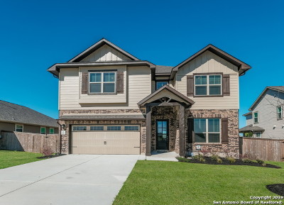 Schertz Single Family Home New: 6587 Mason Valley