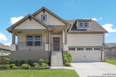 Schertz Single Family Home New: 6568 Mason Valley