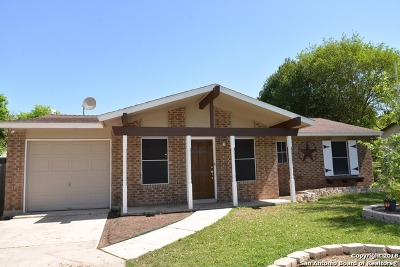 Live Oak Single Family Home New: 12206 Wilderness Trail