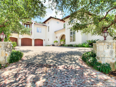 Cottages At The Dominion, Dominion, Dominion Hills, Dominion Vineyard Estates, Dominion/New Gardens, Dominion/The Reserve, Renaissance At The Dominion, The Dominion, The Dominion Andalucia Single Family Home For Sale: 2 Tuscany Ct
